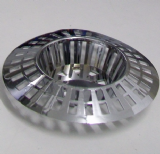 Chrome Basin Plug Hole Strainer - 74000579